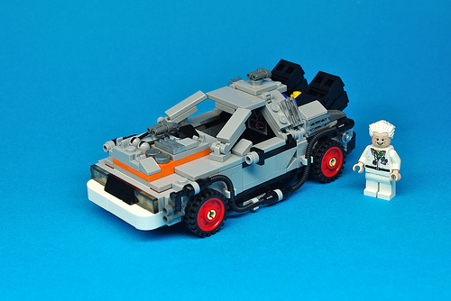 LEGO Back to the Future DeLorean (12)