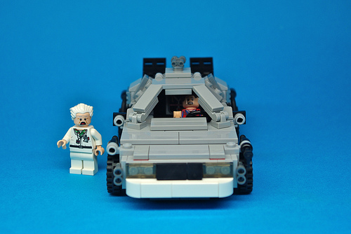LEGO Back to the Future DeLorean (4)