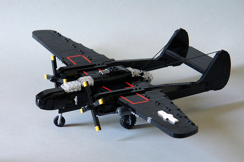 [P-61B-15] The Black Widow : A Study In Black.