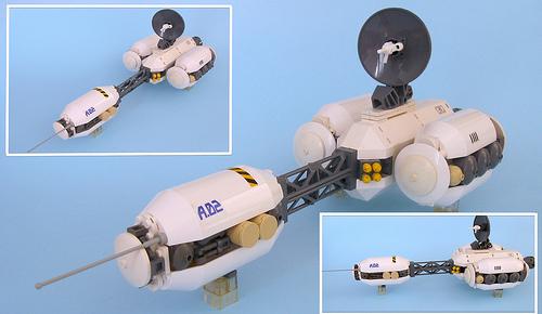Antares Orbital Patrol Ship