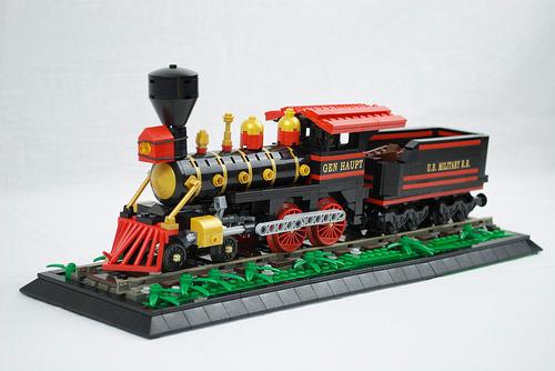 General Haupt 4-4-0 Union Locomotive.