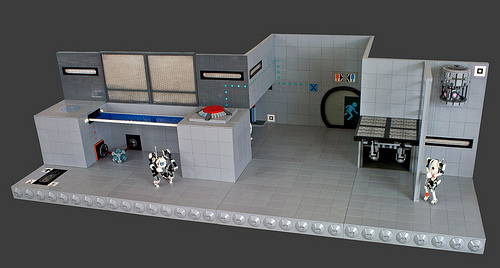 Portal 2 Testchamber: Overall View