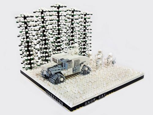 "Inception ""Snow Cat"" Arctic Warfare Humvee"