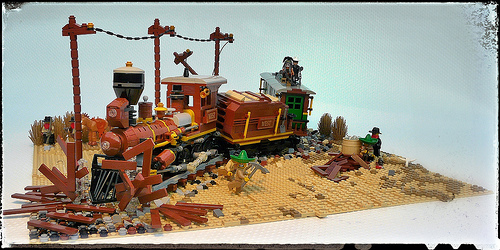Western Train Crash....