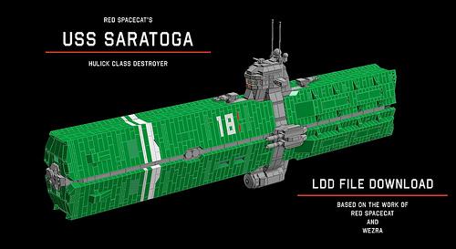 Red Spacecat's USS Saratoga LDD