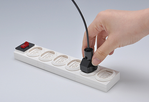 LEGO  power switch socket
