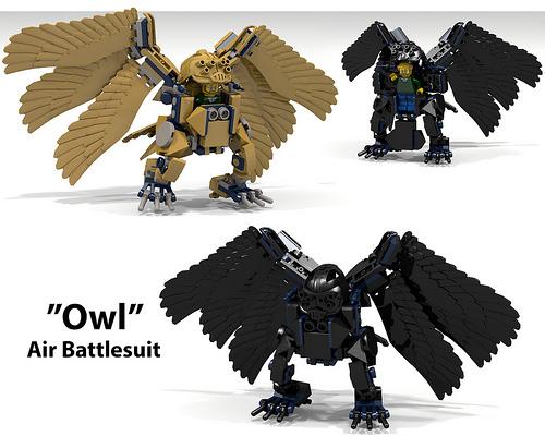 """Owl"" Air Battlesuit"