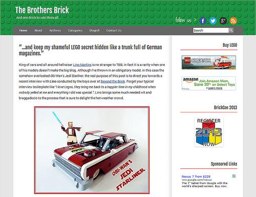 Brothers-Brick.com 3.0