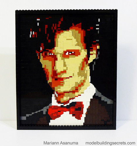 LEGO 11th Doctor Mosaic 2