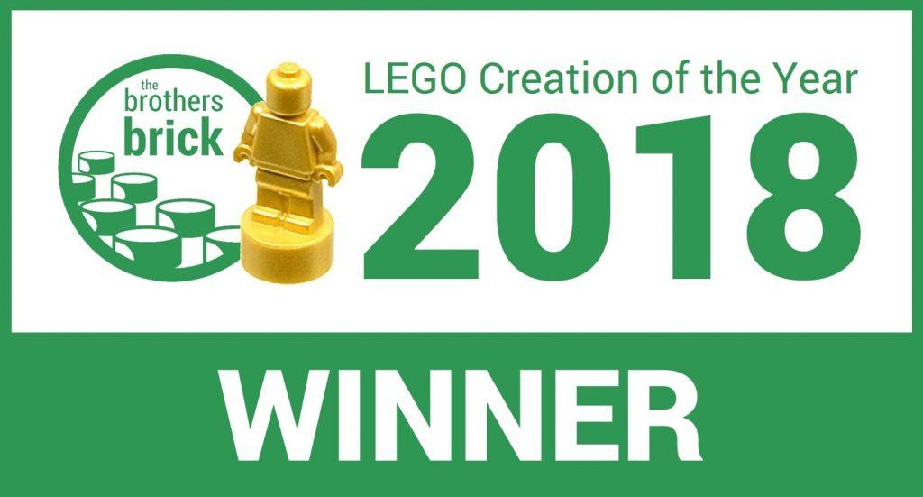 Best LEGO model of 2018