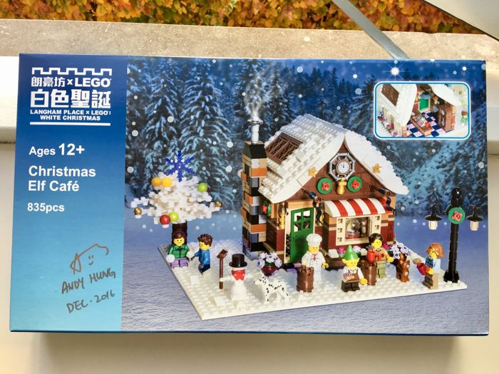 White Christmas Wiki.Catawiki Christmas Elf Cafe Auction The Brothers Brick