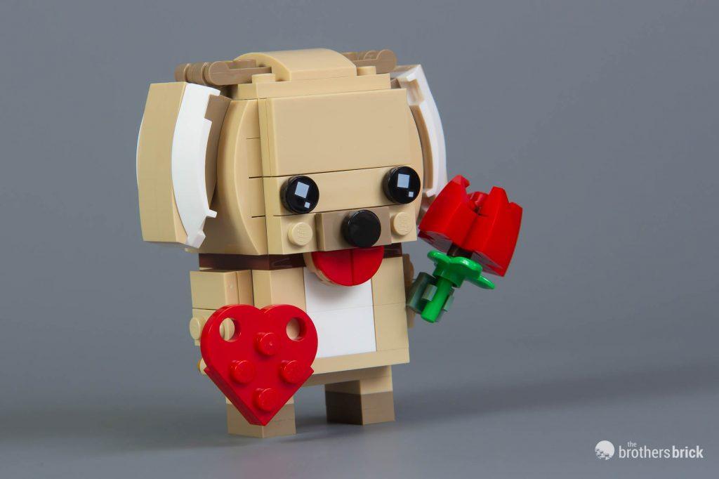 LEGO 40349 Brickheadz Seasonal Valentine's Day Puppy New