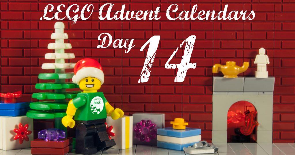 2018 LEGO Advent Calendars, Day 14