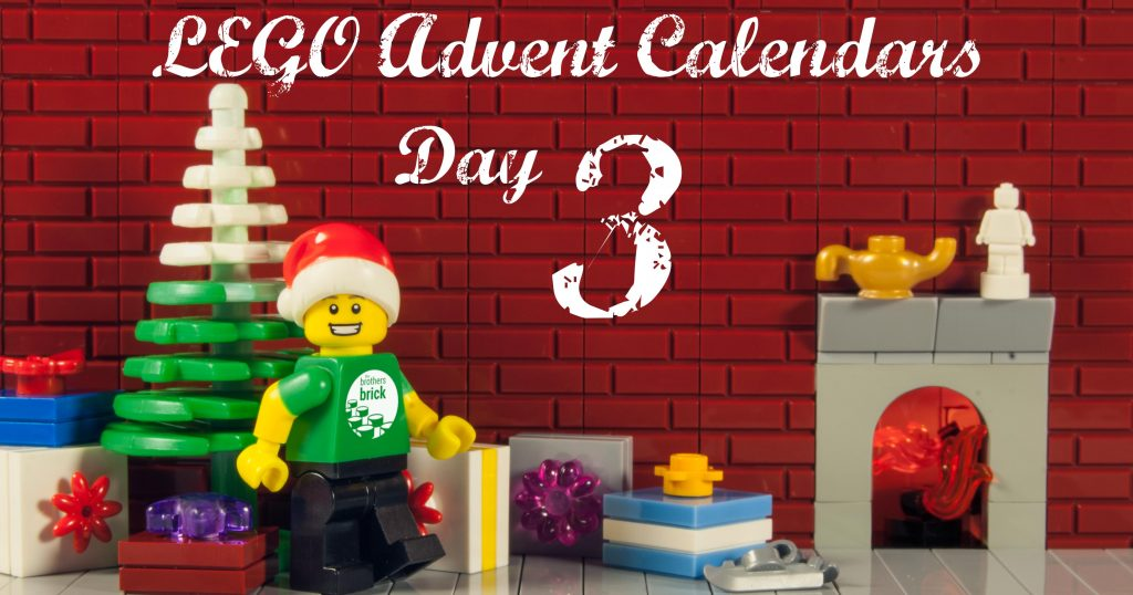 2018 LEGO Advent Calendars, Day 3