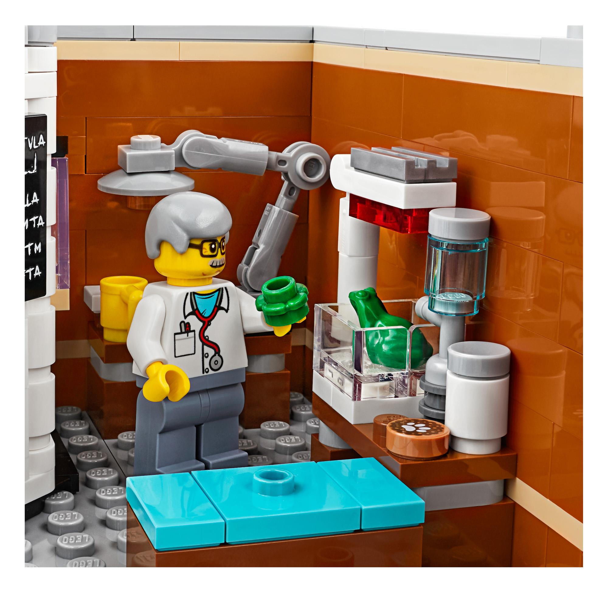 lego creator expert 10264 corner garage 32 the brothers. Black Bedroom Furniture Sets. Home Design Ideas