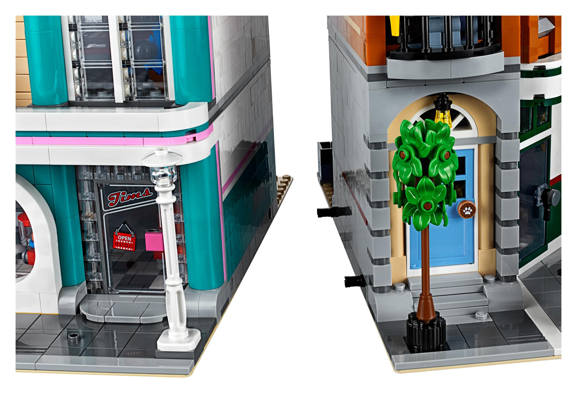 lego creator expert 10264 corner garage 37 the brothers. Black Bedroom Furniture Sets. Home Design Ideas