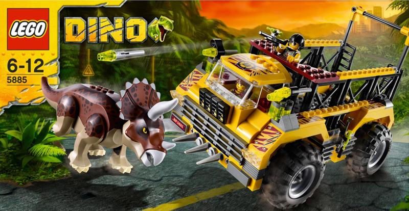 LEGO 2012 Dino 5885 set