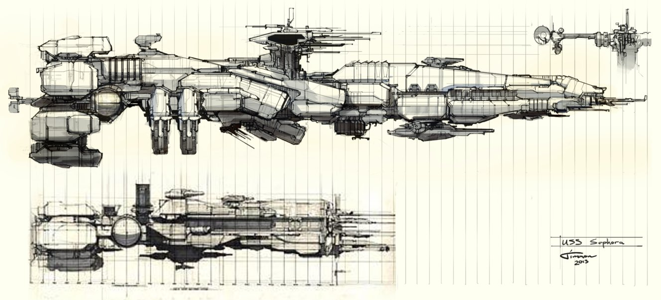 Aliens: Colonial Marines - USS Sephora Redesign