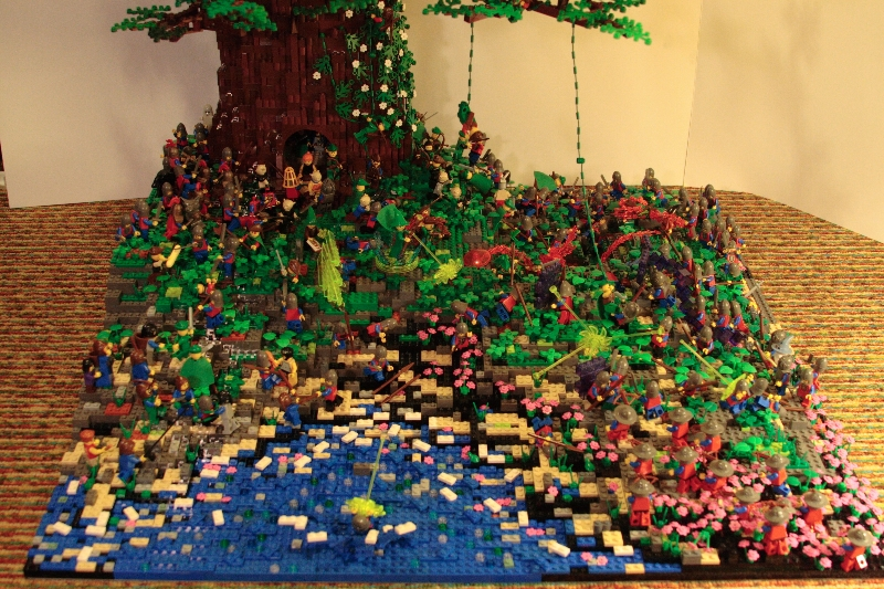 LEGO Tree Defense