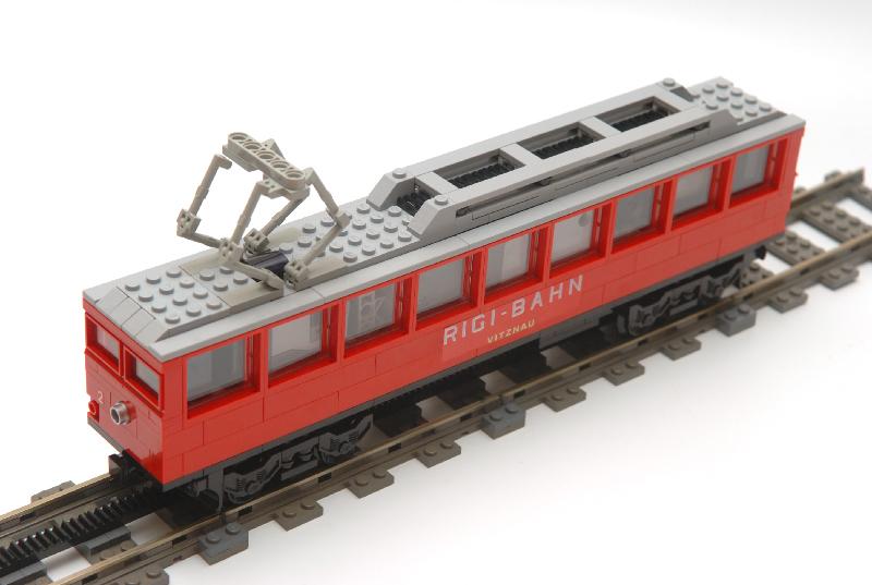 Dandens LEGO cog rail