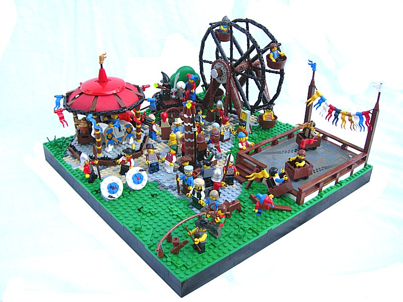 LEGO Carnival Colossal Castle Contest Medieval Fair