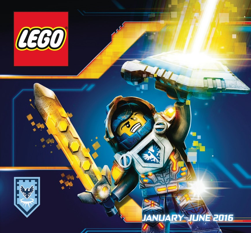 Here's the official LEGO catalogue for January to June of 2016 [News