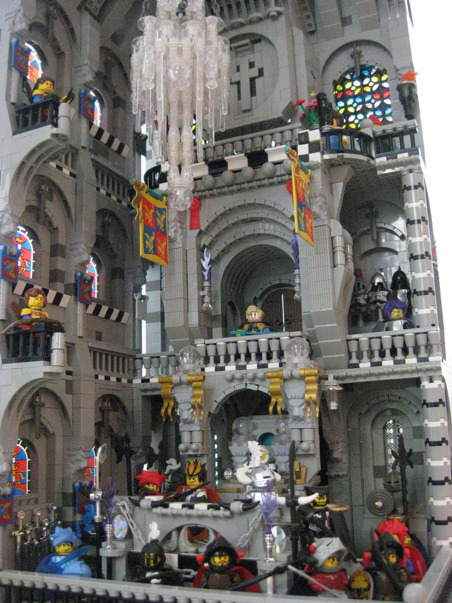 LEGO chandelier