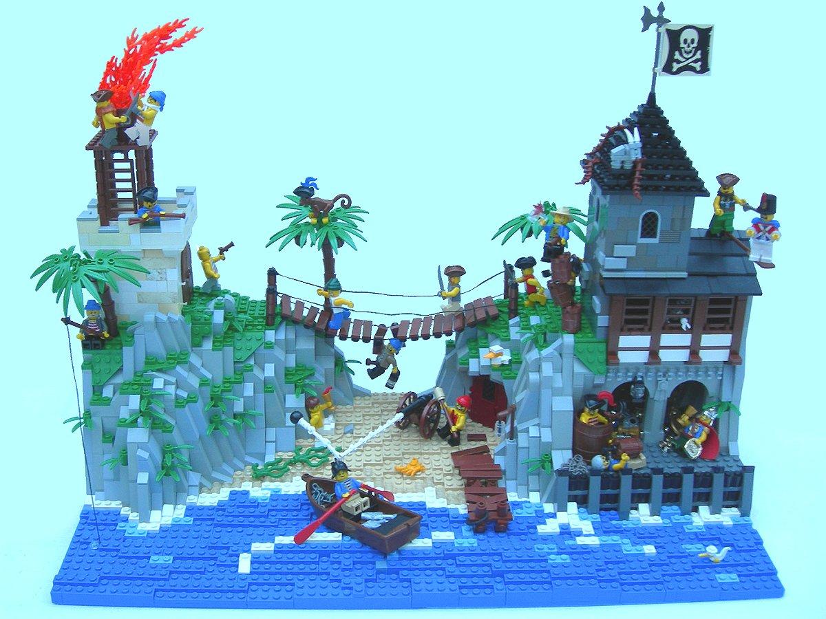 Lego Pirate Island