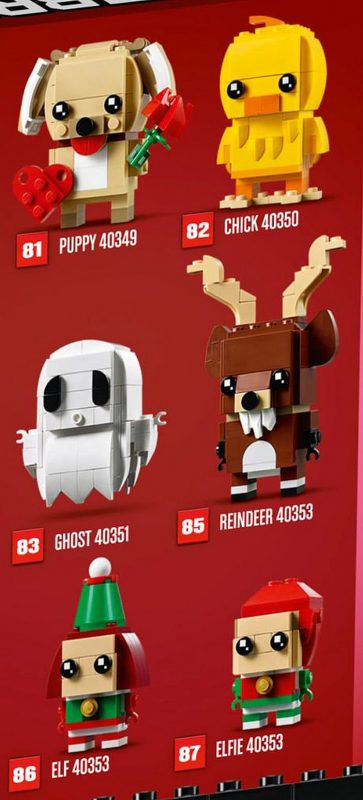 Lego Halloween Sets 2019.First Pictures Of Lego Brickheadz 2019 Lineup News The