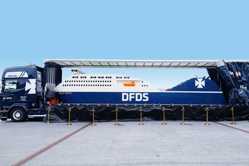 DFDS Seaways LEGO Ship