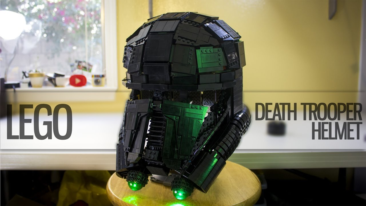 LEGO Death Trooper helmet