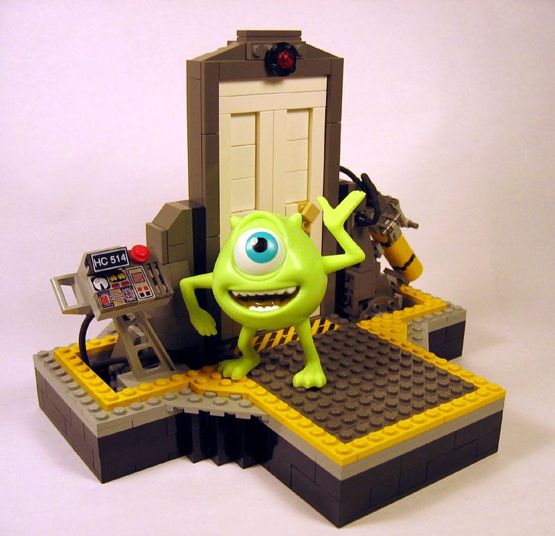 Monstors, Inc. door on Brickshelf