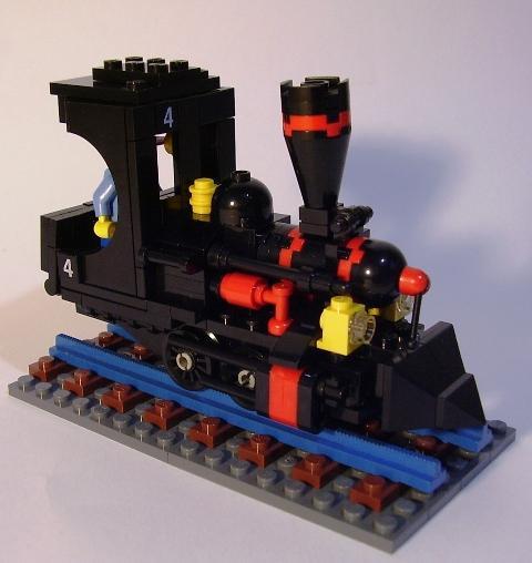 Richie Dulin's Narrow Gauge Train