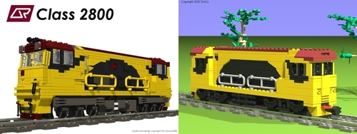 Comparison of old and new QR class 2800