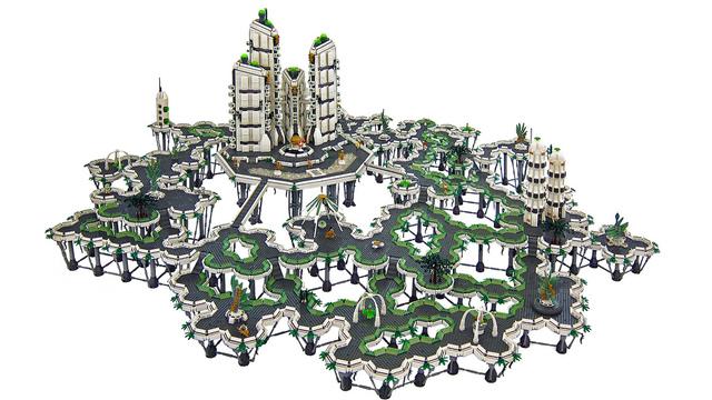 LEGO Mirage diorama