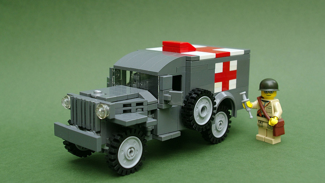 LEGO Mars Curiosity Rover on CUUSOO