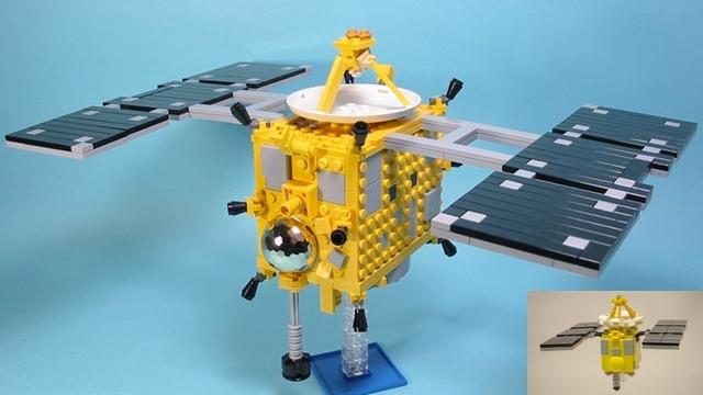 LEGO Cuusoo satellite