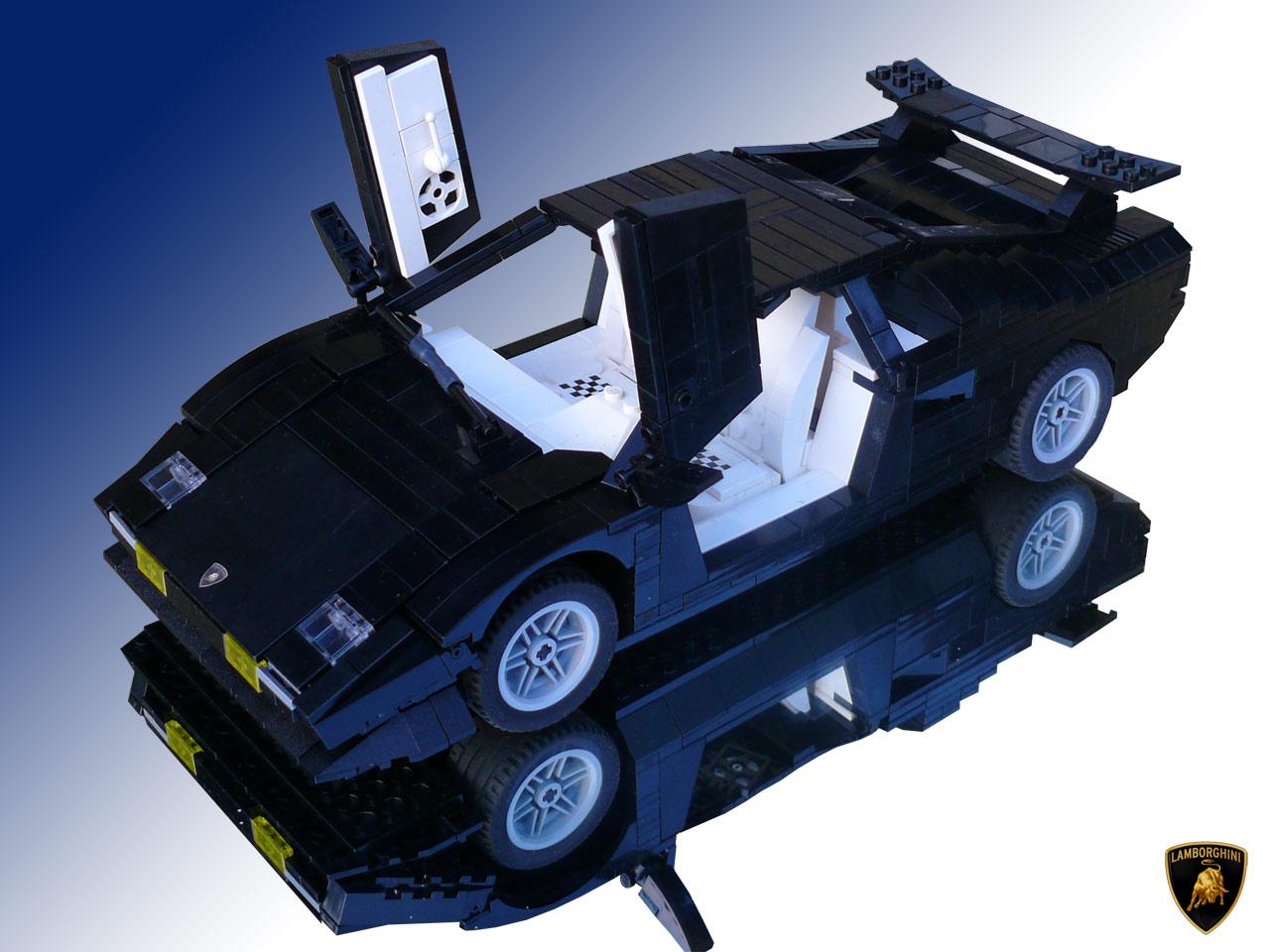 LEGO Lamborghini Countach model