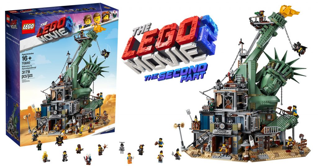 70840 Welcome to Apocalypseburg from The LEGO Movie 2 is available today