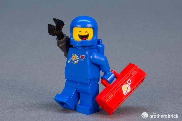 Apocalypseburg Benny The LEGO Movie 2 Minifigures Series 71023 Blind Bag