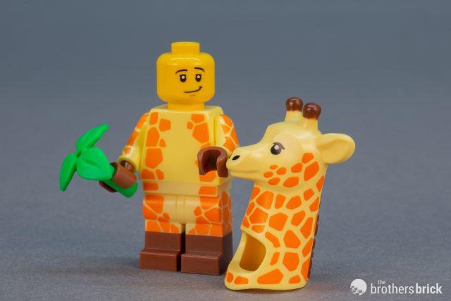 Lego Minifig movie garcon girafe
