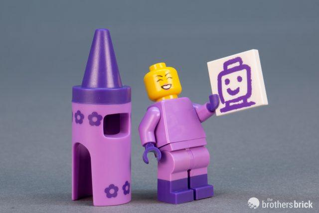 NEW LEGO Movie 2 Crayon Girl CMF GENUINE Minifigure Collectible 71023 Mini Fig