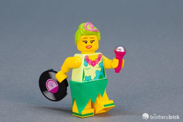 Lego disco alfred choose parts legs torso head tuxedo bald hair collar guitar