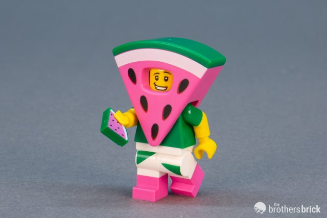 Water Melon Guy Custom Lego Mini Figure watermelon suit man Toy Brand New UK