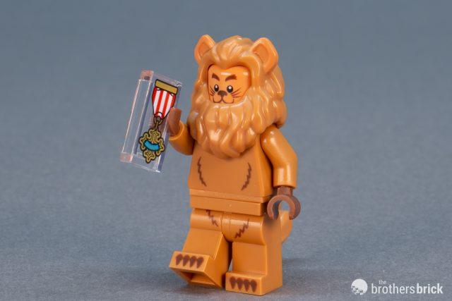 Hole On Top Gold Tiara Lego Dark Brown Hair Short with Braid around Sides