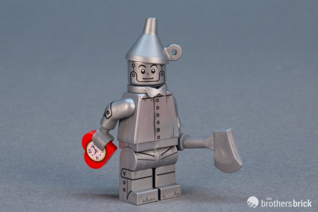 LEGO-MINIFIGURES THE LEGO MOVIE 2 X 1 SILVER BOW TIE FOR Tin Man PART