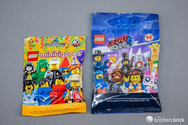 3 lot  New LEGO® Movie 2 Blind Bag Mini Figure 71023 thee lego figurines