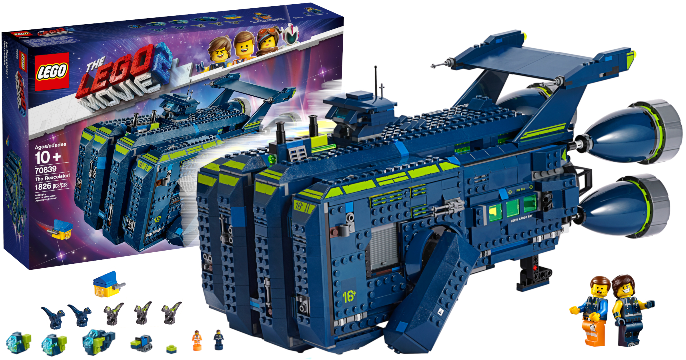 70839 The Rexcelsior Revealed As 21st Set From The Lego Movie 2