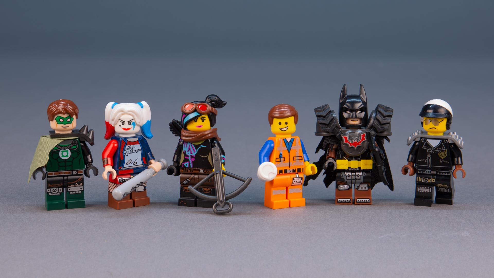 LEGO The Lego Movie 2 Mo-Hawk Apocalypseburg Minifigure 70840 Mini Fig Mo Hawk