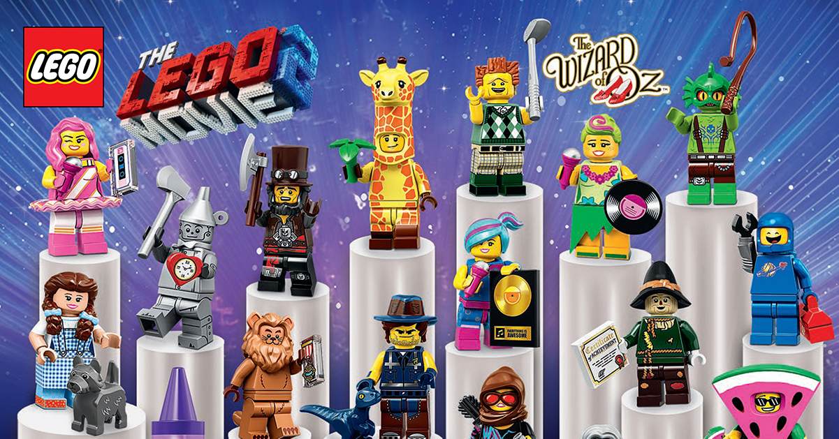 New CMF All 20 Complete Set Of Lego 71023 Minifigures Lego Movie 2